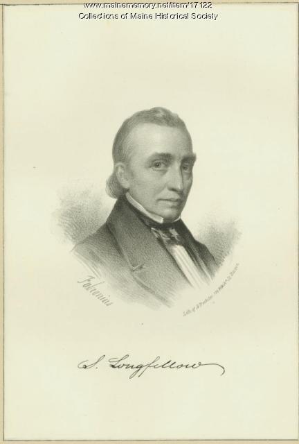 Stephen Longfellow, Portland, ca. 1881