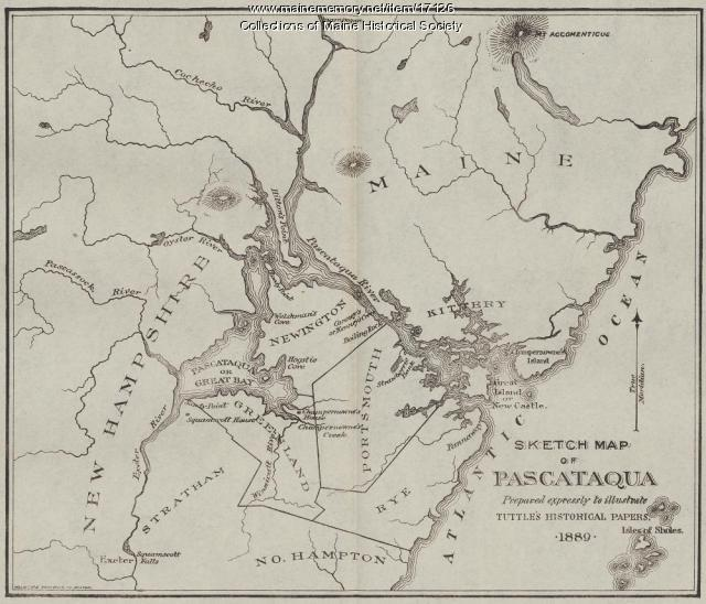 Sketch Map of Pascataqua