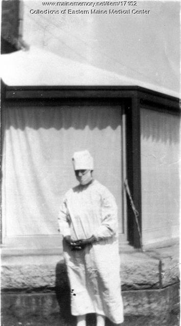 Carolyn Grant, Eastern Maine General Hosptial, ca. 1925