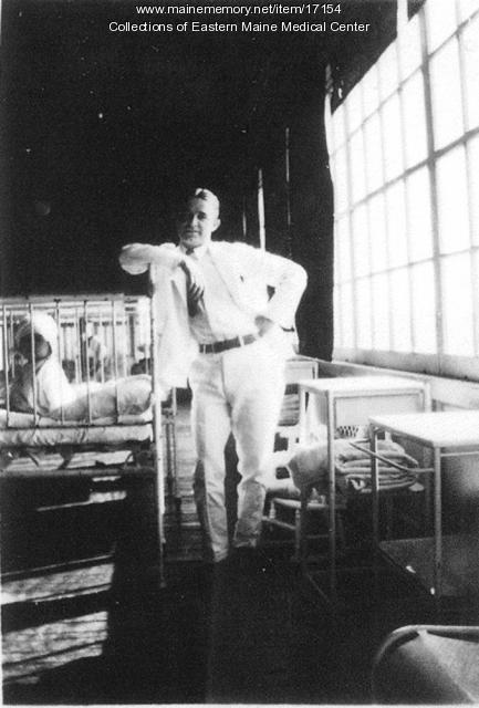 Dr. Carl Blaisdell at Eastern Maine General Hospital