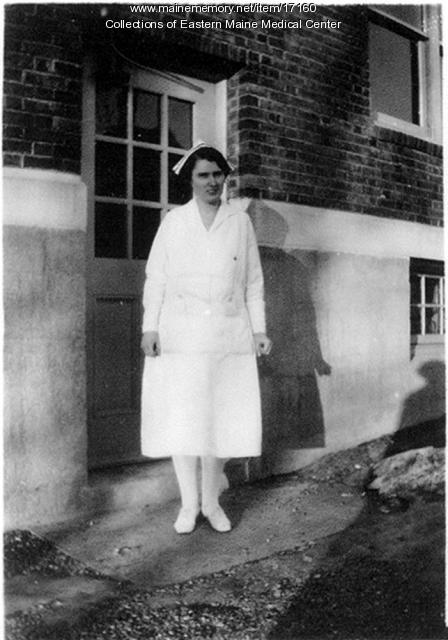 Nurse Mary Ambrose at Eastern Maine General Hospital