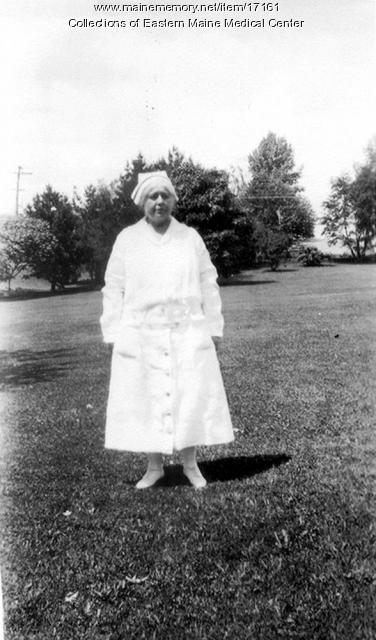 Superintendent of Nurses, Bangor, ca. 1920