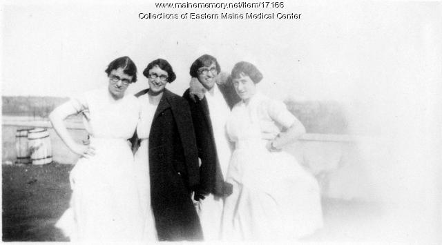Operating room crew, Eastern Maine General Hospital, ca. 1920