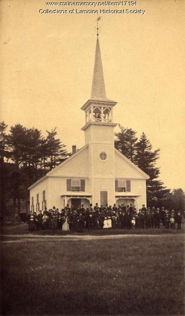 Baptist Church, Lamoine, ca. 1890