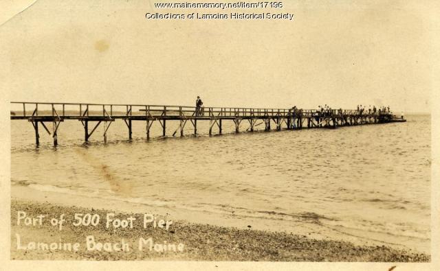 Lamoine Beach Pier