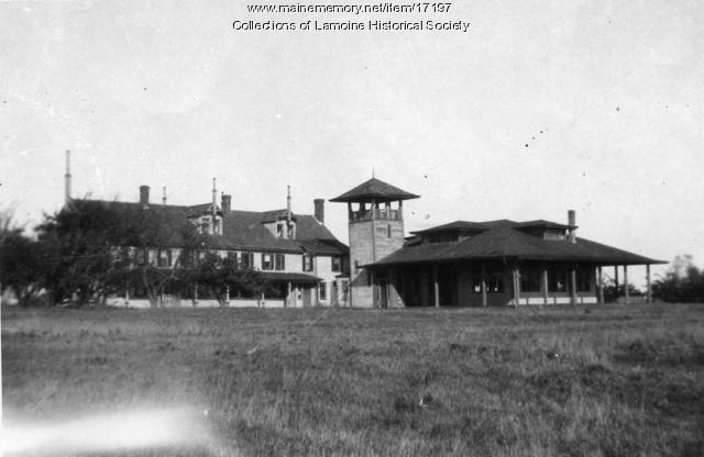 Shore Acres Hotel, Lamoine, 1927