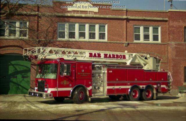 Bar Harbor Fire Department, ca. 1975