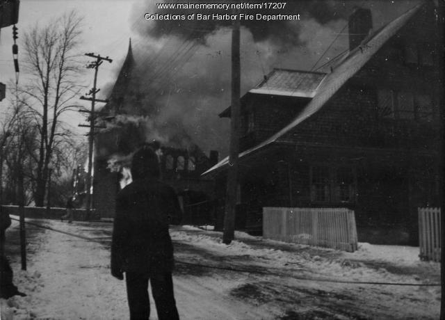 First Congregational Church Fire
