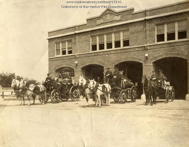 Bar Harbor Fire Station
