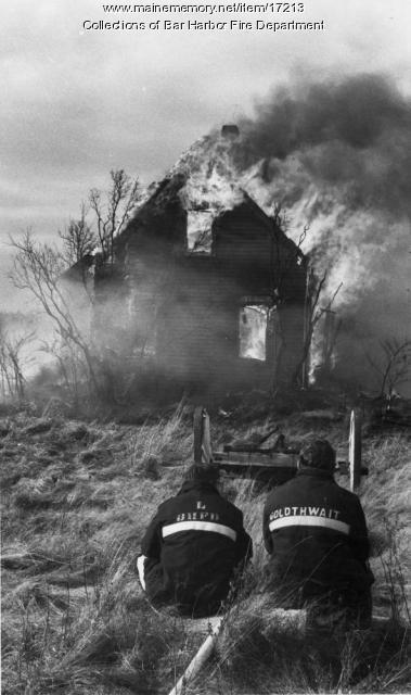 Bar Harbor Fire Department Training