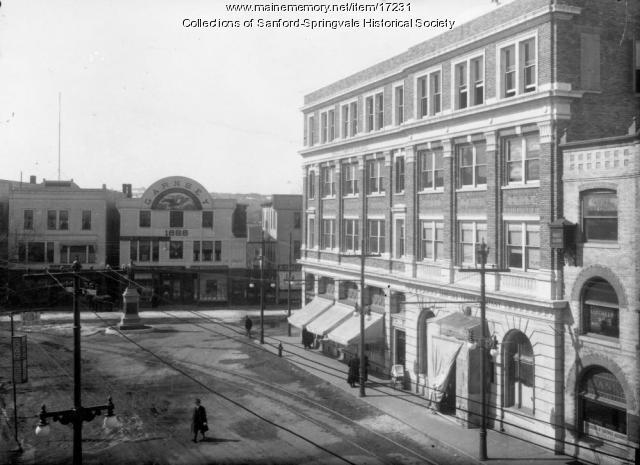 Trust Company Building, Sanford (photo 7 of 7), ca 1918