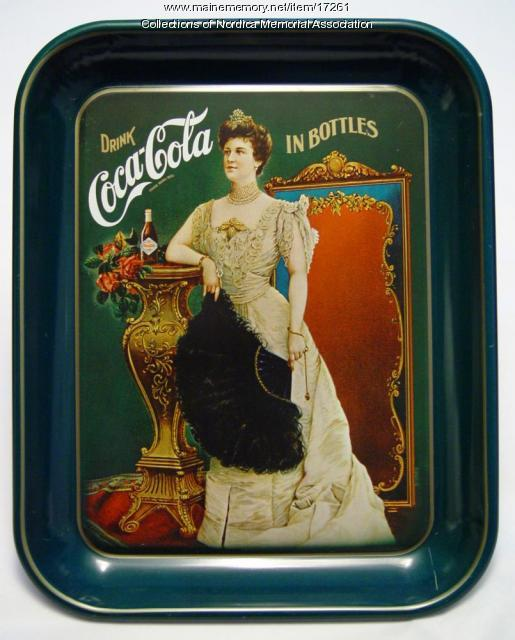 Lillian Nordica on Coca-Cola Tray