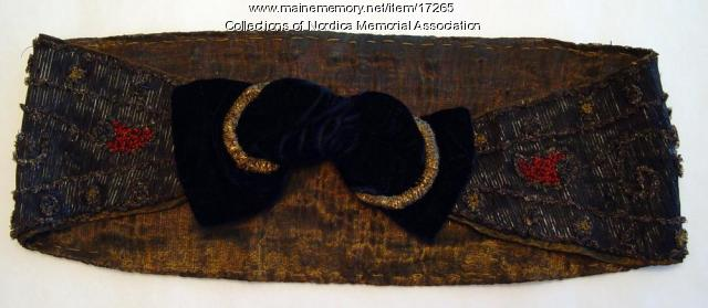Headband worn by opera singer Lillian Nordica