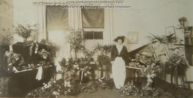 Lillian Nordica after concert in Australia, 1913