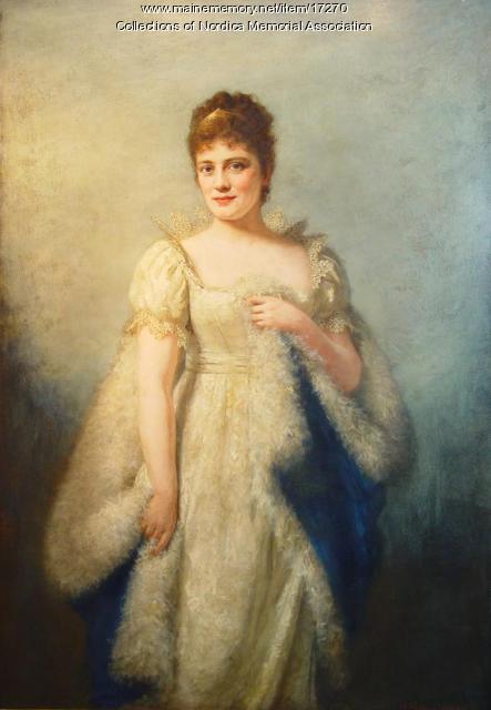 Madame Lillian Nordica portrait, 1878