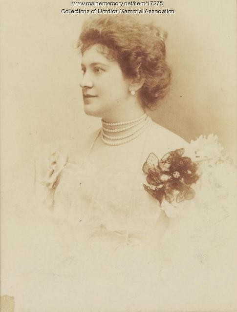 Lillian Nordica, 1877