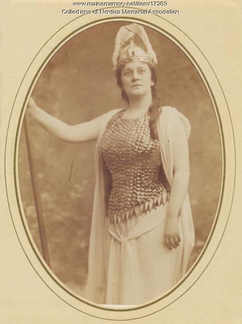 Lillian Nordica as Brunnhilde, 1898