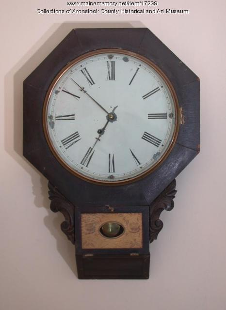 First Clock, Houlton, 1819