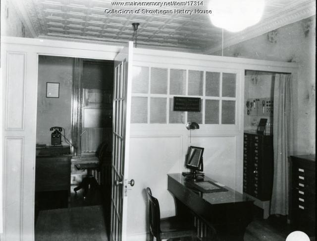 Eye doctor's office, Skowhegan