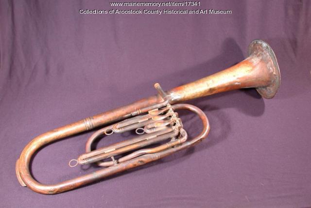 Rotary Valve Tenor Horn, Houlton, ca. 1860