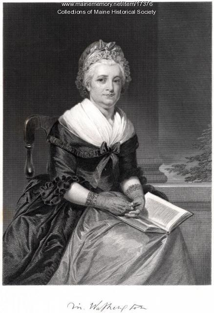 Martha Washington, ca. 1860