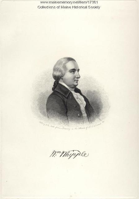 William Whipple, Kittery