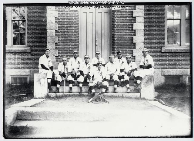 Fryeburg Academy baseball team, 1908