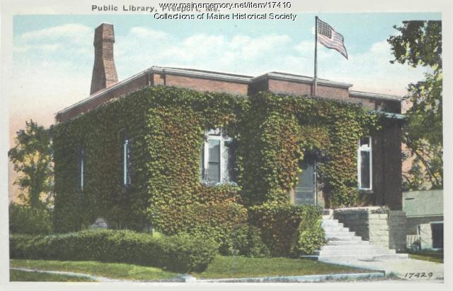 Public Library, Freeport, ca. 1920