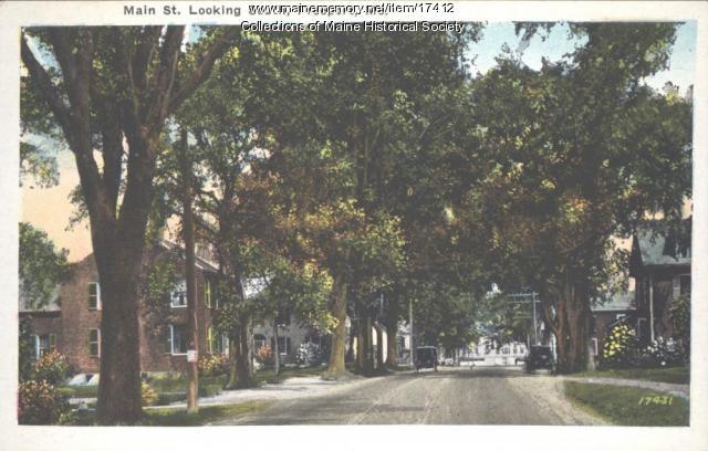 Main Street, Freeport, ca. 1925