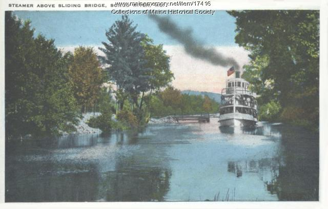 Steamer, Songo River, ca. 1925