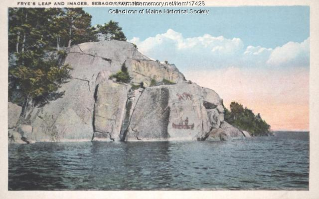 Frye's Leap, Sebago Lake, ca. 1925