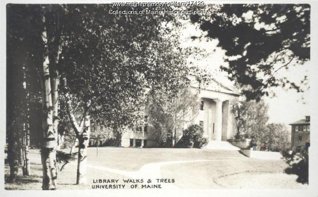 Library, University of Maine, Orono, ca. 1930