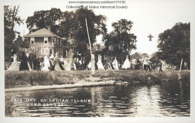 Gala Day, Indian Island, 1921