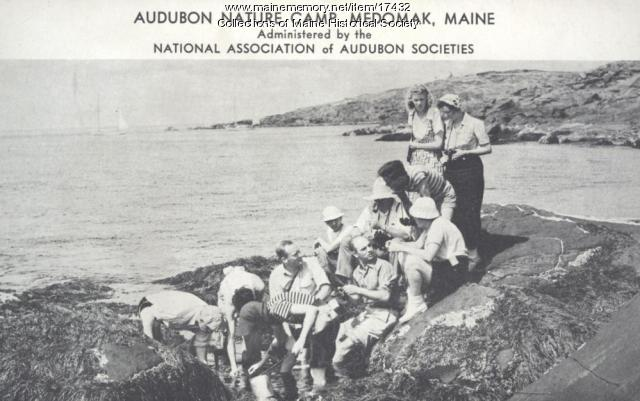 Audubon Nature Camp, Medomak, ca. 1939