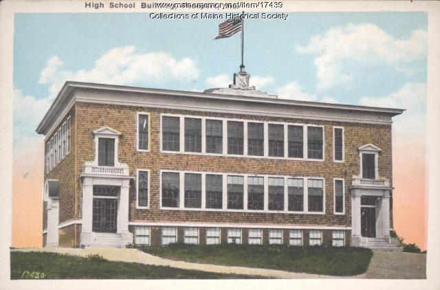 Freeport High School, ca. 1925