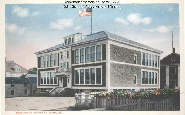 Eastport Primary School, Eastport, ca. 1930