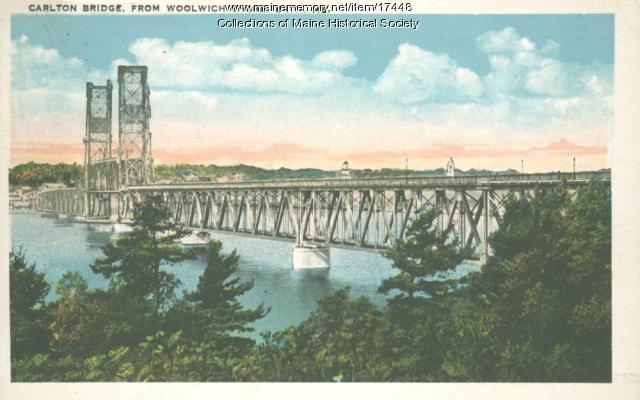 Carlton Bridge, Bath, ca. 1930
