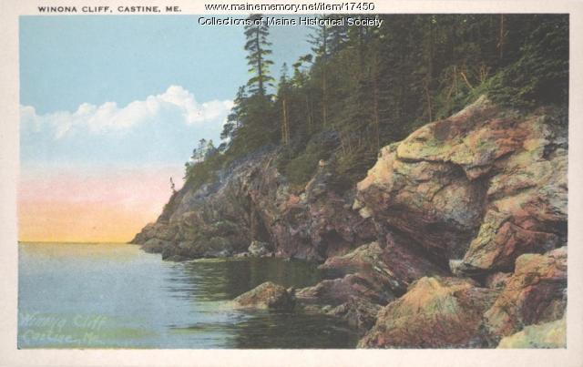 Winona Cliff, Castine