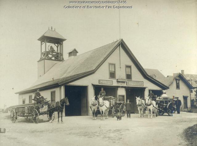 Bar Harbor Fire Department, ca. 1895