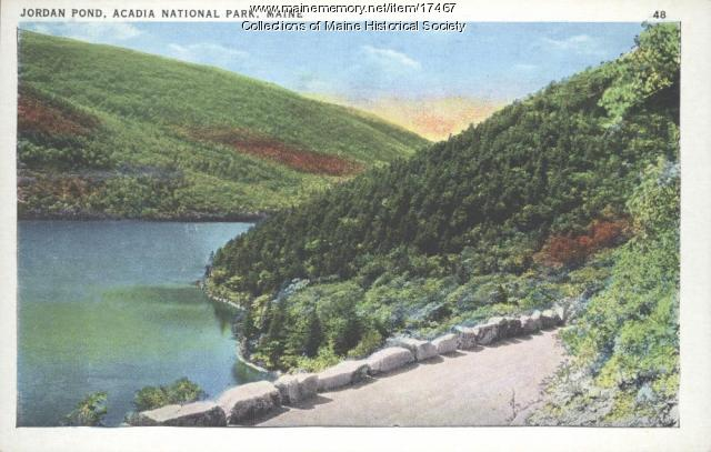 Jordan Pond, Acadia National Park, ca. 1935