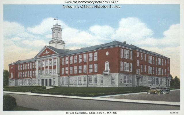Lewiston High School, ca. 1935
