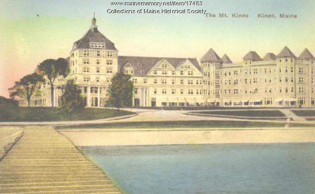 The Mt. Kineo, Kineo, ca. 1915