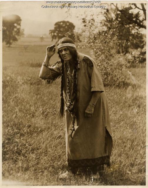 Hattie Pike, Fryeburg, ca. 1930