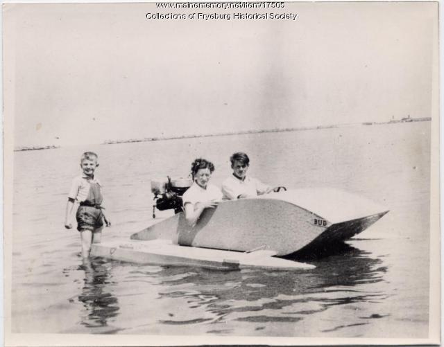 Dearborn boat, 1934
