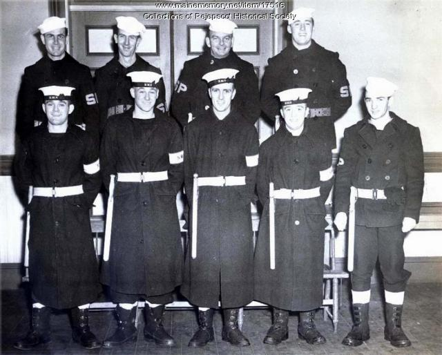 Brunswick Naval Air Station Shore Patrol, ca. 1945