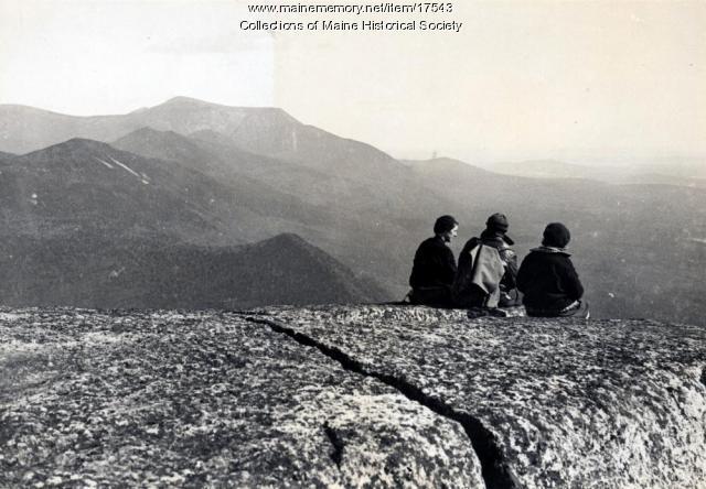 Enjoying the view, Double Top, 1931