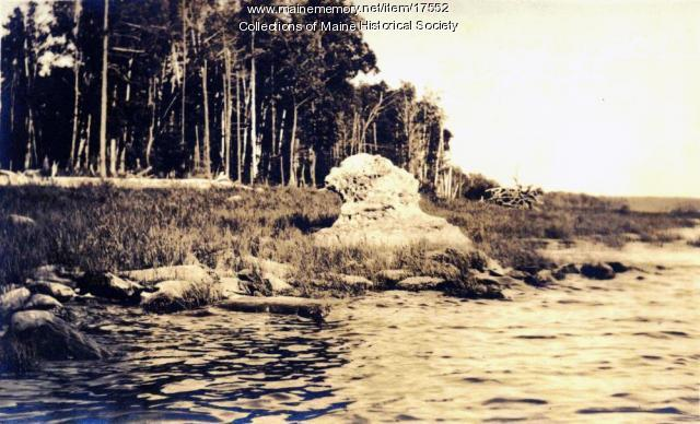 The Sphinx, Chamberlain Lake, 1911