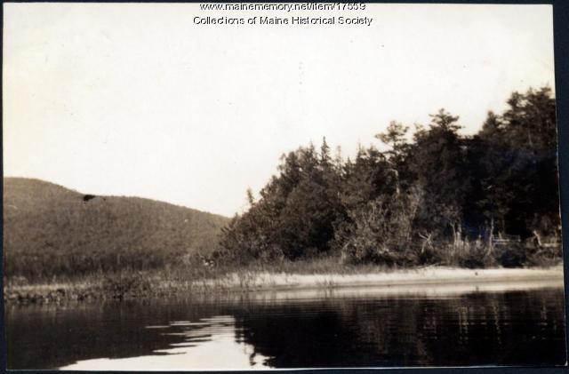 Near Lobster Lake, 1909