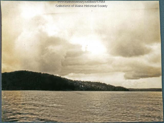 Fishing grounds, Lobster Lake, 1909