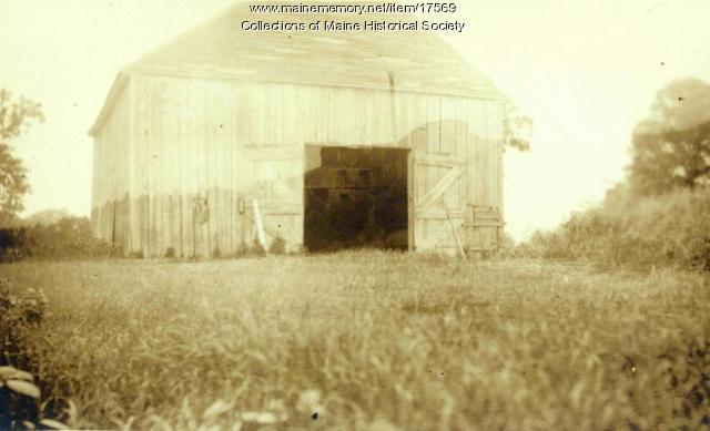 Barn, St. John River, 1911